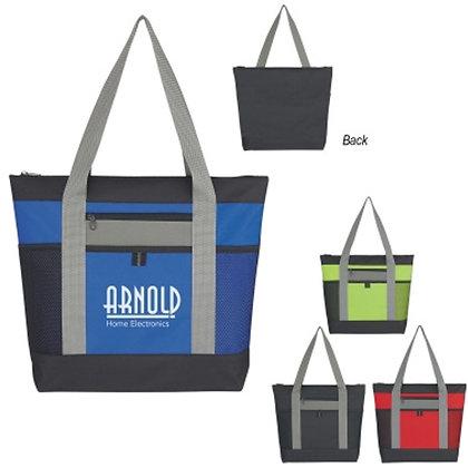 Tri-Colour Tote  Bag