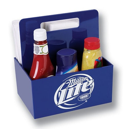 Plastic Condiment Caddy w/ Handle