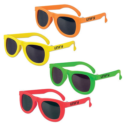 Neon Kids' Sunglasses