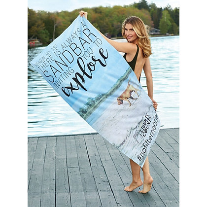 "Colourfusion™ 35"" x 60"" Deluxe Beach Towel"