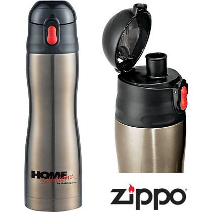 17oz Zippo® Stainless Vacuum Bottle
