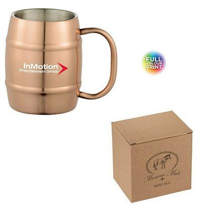 Moscow Mule Barrel Mug 14oz