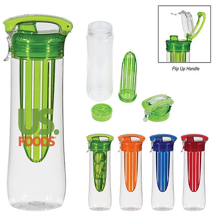 26oz Tritan™ Flavor-Lock Infuser Bottle