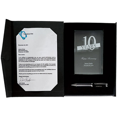 Crystal Award And Gift Box