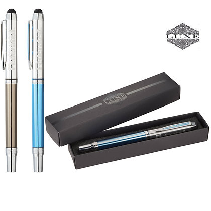 Luxe Lucite Roller Ball Stylus
