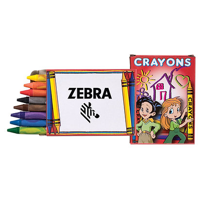 8 Pack Kids Crayon