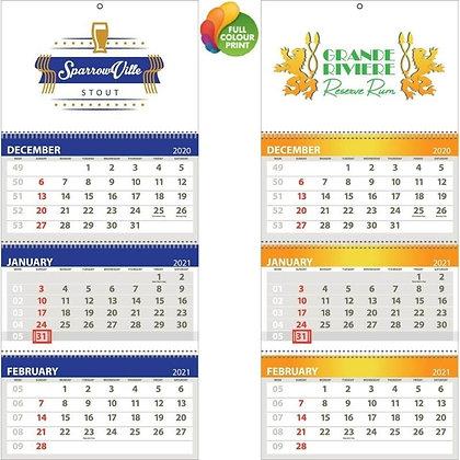 Bivalvia - 3 Tier Shipping Calendar