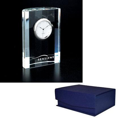 Crystal Analog Desk Clock