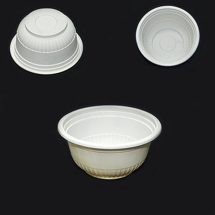 BIOPACK 450ML TAKE OUT BOWL AND LID (480PCS)
