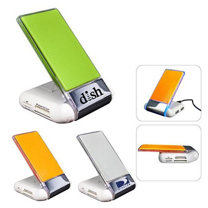 Silicone Foldable USB/Card Reader