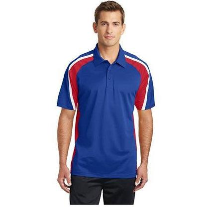 Sport-Tek® Tricolour Micropique Sport-Wick® Polo