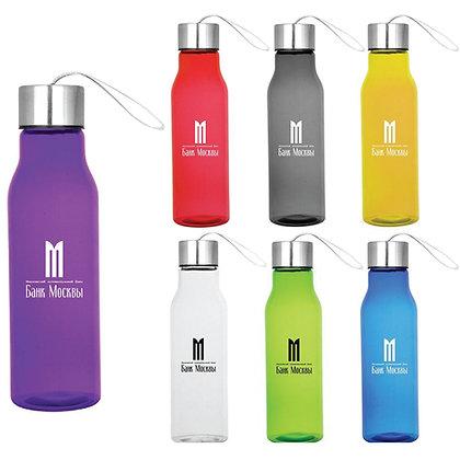 22oz Translucent Colour Pop Bottle