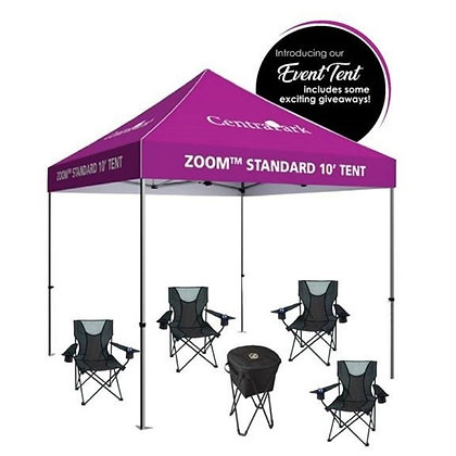 The Event Tent - No Side or Back Walls