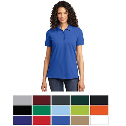 Port & Company® Ladies Core Blend Pique Polo