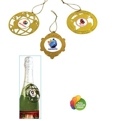 Hanging Brass Ornament