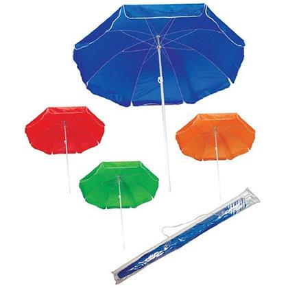 Beach Umbrella in Transparent Bag