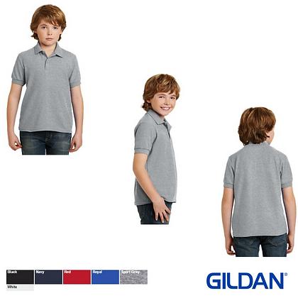 Gildan Youth DryBlend 6.3 Ounce Double Pique Sport Shirt