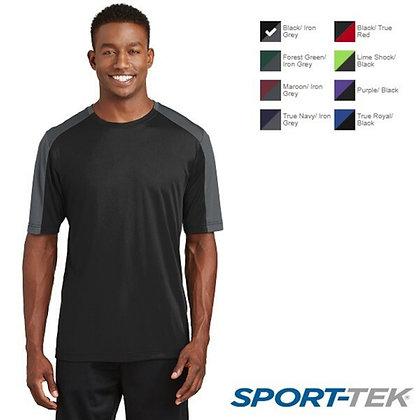 Sport-Tek® PosiCharge® Competitor™ Sleeve-Blocked Tee