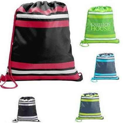 Zipper Stripe Sport Pack Bag