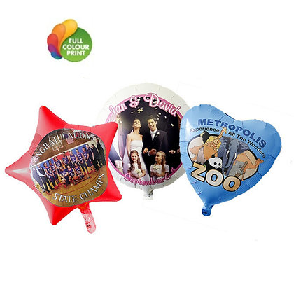 Full Colour Foil Balloons