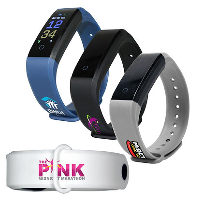 Activity Tracker Wristband 2.0, Full Color Digital