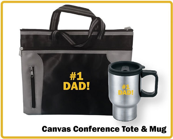 VET Father's Day Canvas Conference Tote.