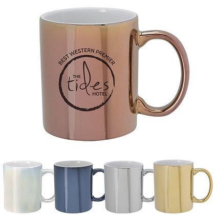 12oz. Iridescent Ceramic Mug
