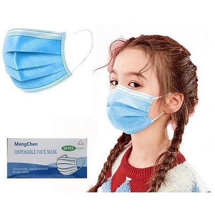 3-Ply Disposable Children's Face Mask