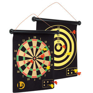 2-Sided Magnetic Dartboard