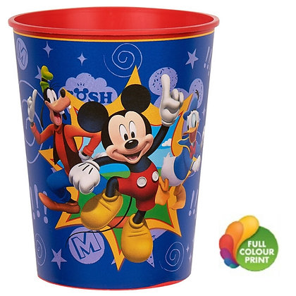 16oz. Plastic Souvenir Cup w/Full Colour