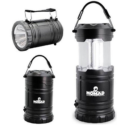 Pop Up Camping Lantern With Torch