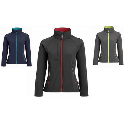 Ladies' Matrix SP Soft Shell Jacket with Contrast Zip