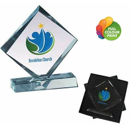 Glass Award in Gift Box