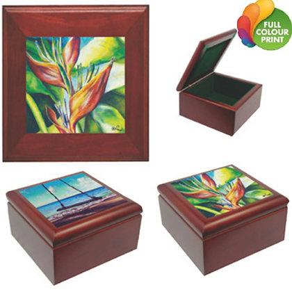 Tile Keepsake Box