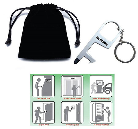 Hand Touch Tool Keyring