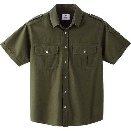 M-Grandbay Roots73 Short Sleeve Shirt (Poly-Cotton)