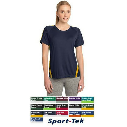 Sport-Tek Ladies Colorblock Competitor Tee