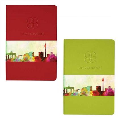 Ambassador Graphic Wrap Bound Journal Book