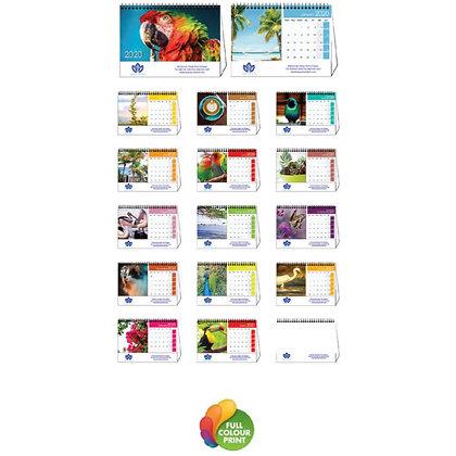 2020 Spiral Desk Calendar