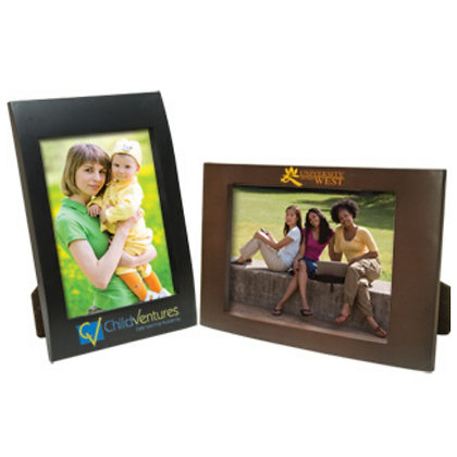 "5"" x 7"" Faux Wood Frame"