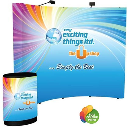 Pop Up Magnetic Curved Display