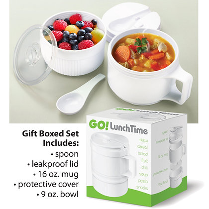 GO! Lunchtime Meal and Snack Container