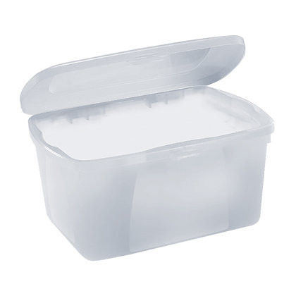 RIMAX MULTI USE STORAGE BOX 6L CLEAR