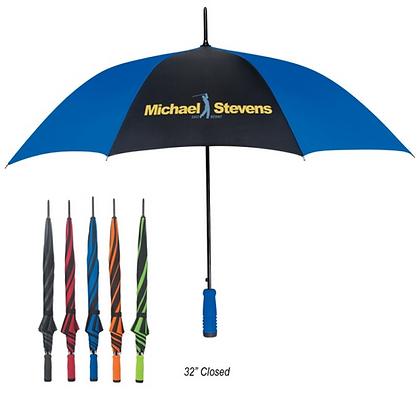"Two Tone 46"" Arc Umbrella"