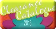 Clearance  Catalog 2013