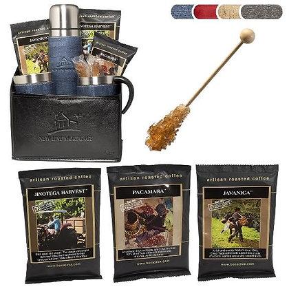 Casablanca™ Thermos, Cups & Boca Java® Coffee Set