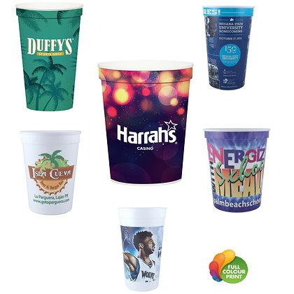 Full Colour Printed Stadium Cups