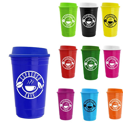 The Traveler - 15oz. Insulated Cup