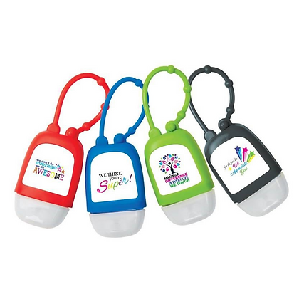 Motivate 1oz Hand Sanitizer in Silicone Case with Strap