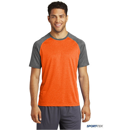 Sport-Tek Heather-On-Heather Contender Tee